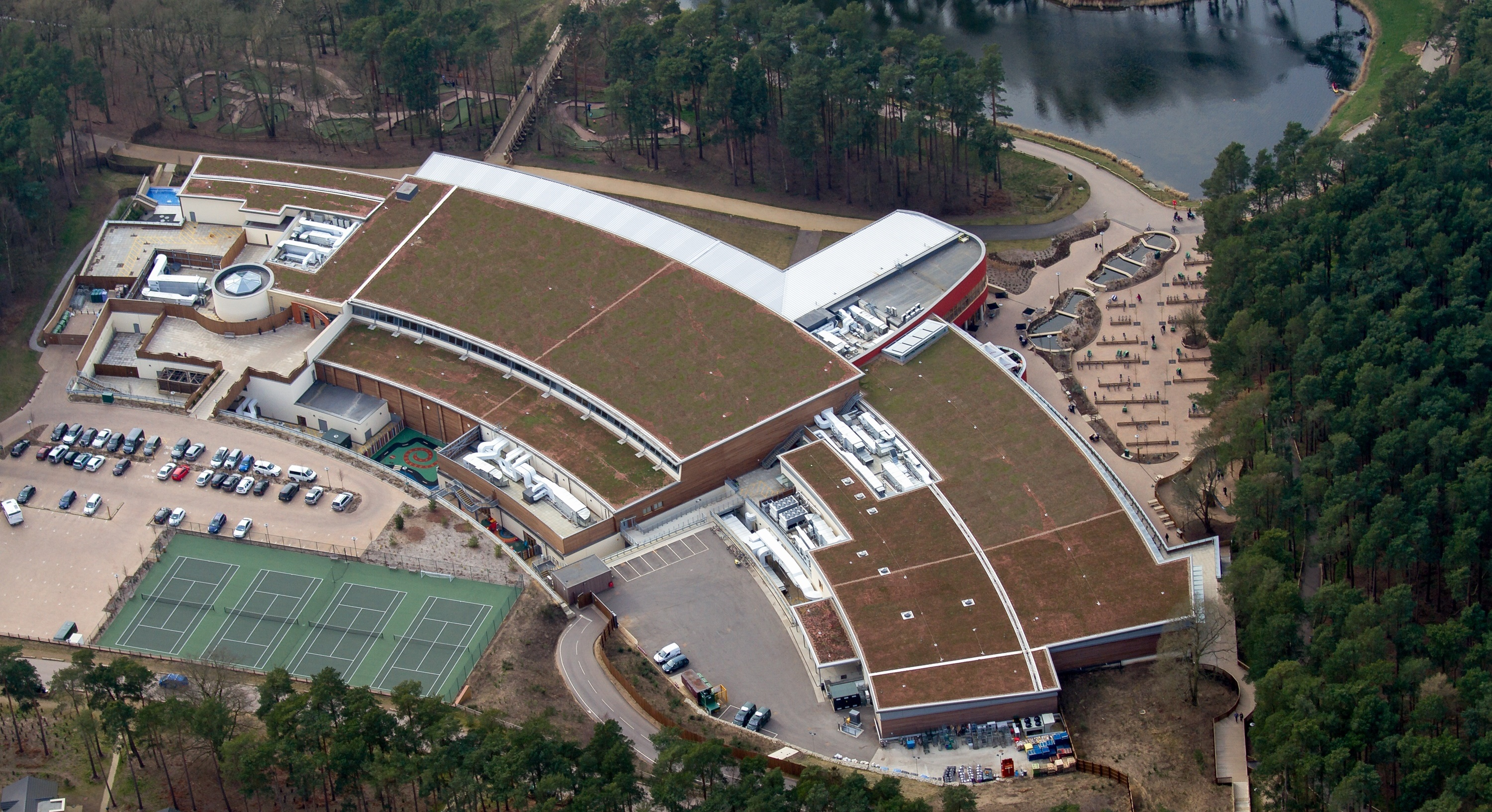 Center Parcs Green Roof