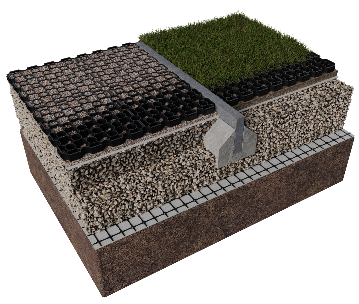 Permeable Paving Installation | Porous Paver Installers
